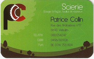 scierie patrice collin